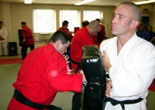 Dojo Black Belts training